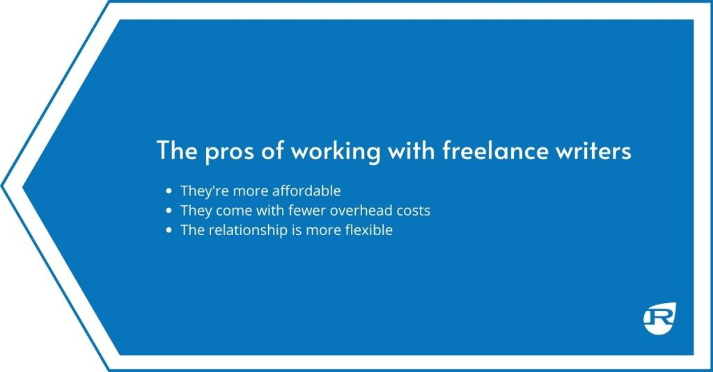 The pros of hiring a freelance writer